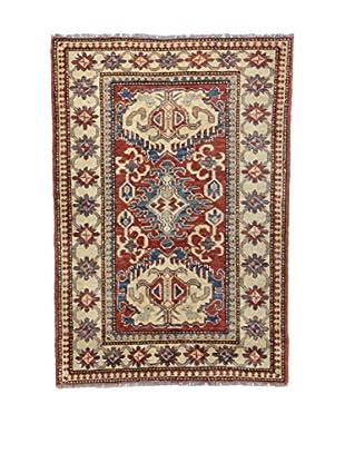 Eden Teppich   Uzebekistan 106X148 mehrfarbig