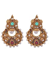 Metal Dangle & Drop Earings For Women Multicolor