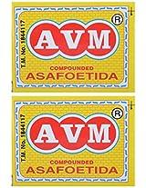 AVM Compounded Asafoetida Cake, 25 grams (Pack of 2)