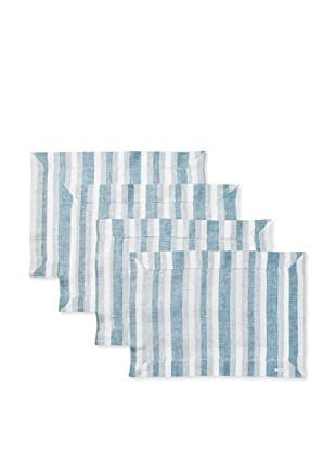 Sferra Set of 4 Ascot Placemats (Peacock)