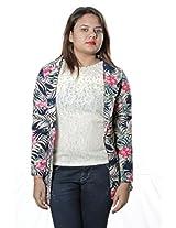 Shopaholic fashion Desinger Floral Shrug (Size-L)