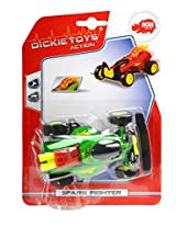 Dickie Manual Spark Fighter, 13 cm, Green