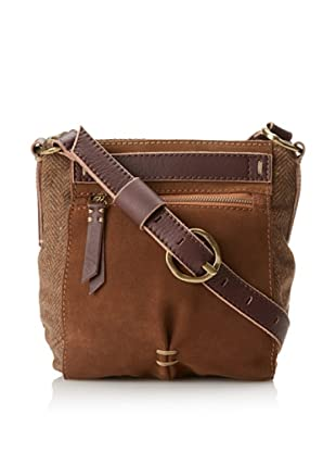 49 Square Miles Women's Woolie Cross-Body, Chocolate