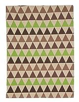 "PO BOX 100% Cotton 1 Kitchen Towel Pyramid Story Multi- 20""X28"""