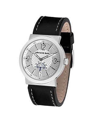 ARMAND BASI A0442G05 - Reloj de Caballero movimiento de cuarzo con correa de piel Negra