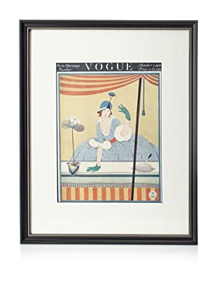 Original Vogue Cover from 1916 by George Plank