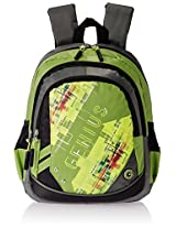 "Genius Nylon Children's Backpack (GN 1520 - 13""-GREEN)"