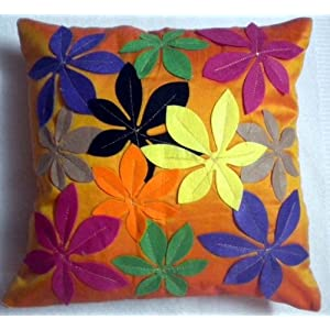 JBG Home Store Patchwork Design Cushion Cover(Set Of 5)