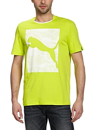 Puma T-Shirt Tech (lime punch)