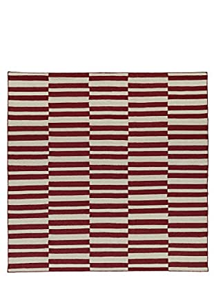 Kaleen Nomad Rug, Red, 8' Square