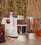 Morphy Richards Divo Essentials 2 Jars 500 W Juicer Mixer Grinder (White)