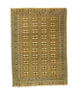 L'Eden del Tappeto Teppich Yomud grün/beige 291t x t210 cm