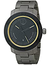 Movado Men's 3600098 Bold Analog Display Swiss Quartz Black Watch