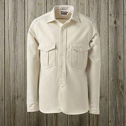40s W-Pocket Work Shirt SN-12FW-42: White