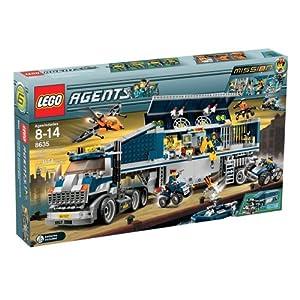 【クリックでお店のこの商品のページへ】Amazon.co.jp   LEGO 8635 Mission 6: Mobile Command Center(レゴ エージェント コマンドセンター)   おもちゃ 通販