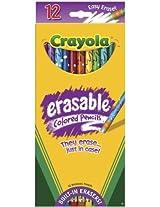 Crayola 12ct Erasable Colored Pencils