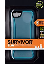Griffin Blue/Clear Survivor Slim Protective Case for iPhone 5/5s, iPhone SE - Mil-Spec Rugged Slimmed Down for the Street