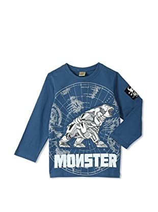 Monster Republic Boy's Charted Wilderness Tee (Navy)