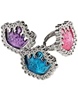 Assorted Color Princess Tiara Theme Rings (12)