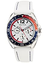 Nautica Analog White Dial Men's Watch - NTA09907G