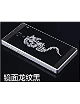 Excelsior Premium Dragon Style Back replacement Cover Case for Xiaomi Redmi 1s (Black)