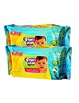 Nuby Baby Wet Wipes(Combo pack of 2)