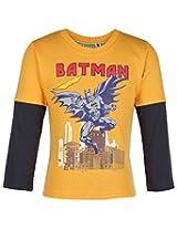 Cucumber Full Sleeve T-Shirt - Batman Print