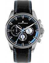 Jacques Lemans Chronograph Black Dial Men's Watch - 1-1655C