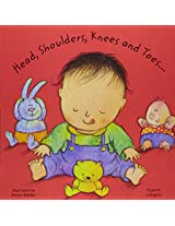 Head, Shoulders, Knees and Toes in Gujarati and English (Board Books)