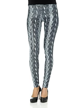 Free for Humanity Leggings Phyton (Schwarz/Weiß)