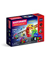 Magformers Vehicles Dynamic Wheel Set (79-piece) Amazon Exclusive