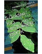 5 Golden KID HISTORIER BOOK