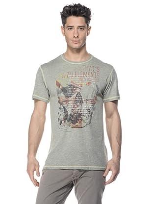 Zu-Elements Camiseta Gideon (Verde medio)