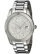 Oniss Paris Women's ON6019N-LPV Galaxy-Z2 Collection Analog Display Swiss Quartz Silver Watch