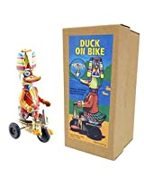 Vintage Style Duck On A Bike Off The Wall Toys