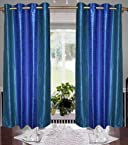 Art Pack Eyelet Polyester Curtain - APFECW023 (Blue)