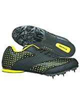 Nivia Sky Light Running Spikes,UK 5 (Yellow/Black)