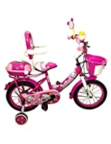 HLX-NMC KIDS BICYCLE 14 BOWTIE PINK/WHITE
