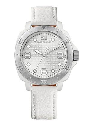 Boss Orange 1502290 - Reloj de Señora movimiento de quarzo con correa de piel blanca