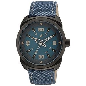 Fastrack OTS Explorer Analog Blue Dial Men's Watch - 9463AL07J