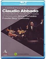 Abbado and Simón Bolívar Youth Orchestra - Easter 2010 at Lucerne Festival [Blu-ray]
