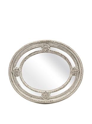 Christensen Carved Oval Mirror