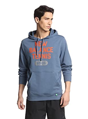 New Balance Men's Tennis Muni Hoodie (Black/Grey)
