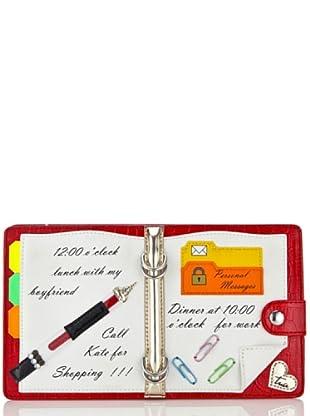 Tua By Braccialini Pochette Notes rosso