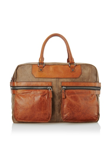 A. Toy Jeremy Zip Tail Weekender, Vintage Sand Fabric, One Size