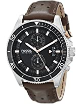 Fossil End of Season Wakefield Analog Black Dial Men's Watch -CH2944