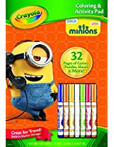 Crayola Color and Activity Book - Minions