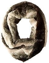 D&Y Women's Ombre Faux-Fur Infinity Scarf