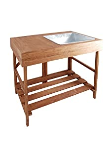 Esschert Design Hardwood Potting Table
