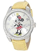 Ingersoll Women's IND 25658 Disney Minnie Mouse Watch with Tan Band